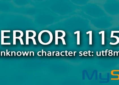 error 1115