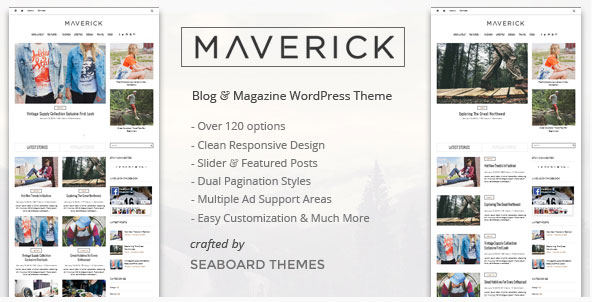 maverick plantilla wordpress