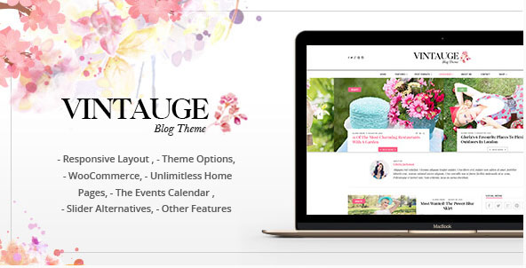 vintauge wordpress theme
